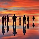 天空の鏡 まるで主人公の気分になれるボリビアのウユニ塩湖